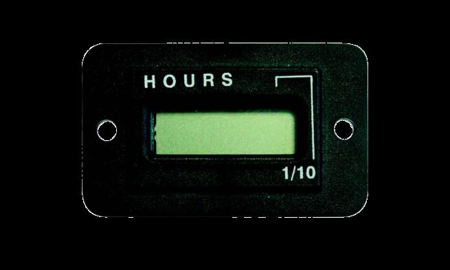 12V - 48V Hour counter