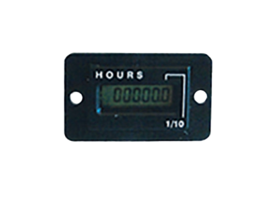 Vibration activated hour counter